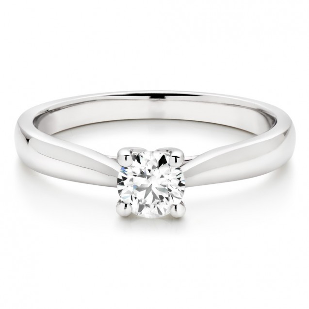 Diamonds Engagement white gold 18k
