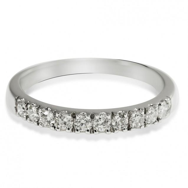 Diamond Ring Made in 14k White Gold
