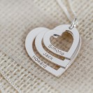 Mothers Custom Engraved necklace made in 14k Gold