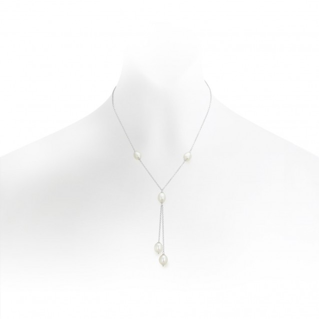 Freshwater Pearl Made In 14k White Gold