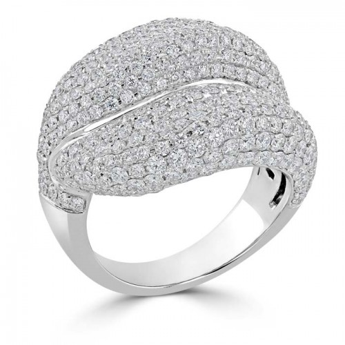 Diamond Ring Made in 14k White Gold (1.3 ct)