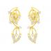 Diamond Earring Set in 14k Yellow Gold ( 0.68ct)
