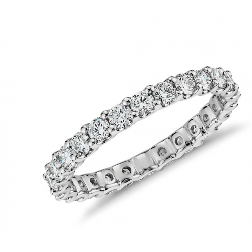 Diamond Ring set in 14k White Gold (1.2cts)