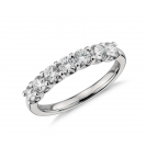 Diamond Ring set in 14k White Gold (0.96 ct)