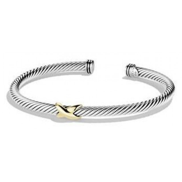 Twisted X Bangle