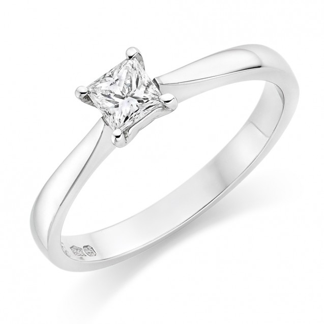 Engagement Ring made in 18k Gold ( Setting only ,choose centre stone inside )