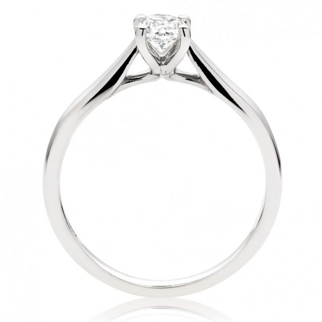 Diamonds Engagement white gold 18k